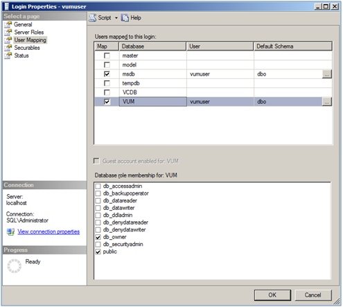 Part I - Update Manager (VUM) Installation and Configuration Guide (1/6)