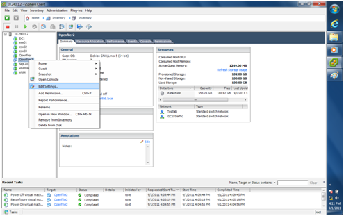 How to Configure LUN Masking with Openfiler 2.99 and ESXi 4.1 (5/6)