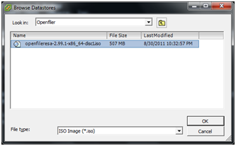 How to Configure LUN Masking with Openfiler 2.99 and ESXi 4.1 (6/6)