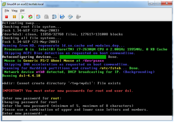 A Small Virtual Machine for a Test Lab | VirtuallyMikeBrown