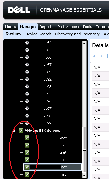 One note about discovery of ESXi 5 0 servers with Dell