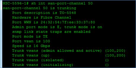 Cisco Nexus Fibre Channel configuration template