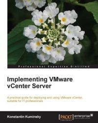 Book Cover: Ipmlementing VMware vCenter Server